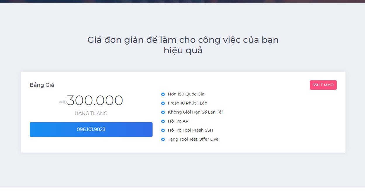 SSH hơn 150 quốc gia - 300 000 VNĐ / Tháng | SSH T-MMO COM